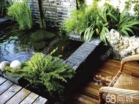 庭院金鱼池设计图-室内鱼池设计效果图图片大全 室内鱼池 来自安琪儿